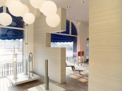 showroom fox/nola malmö av agneta hahne arkitekter